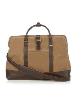MALLE | Jack Waxed Cotton-Canvas Messenger Bag