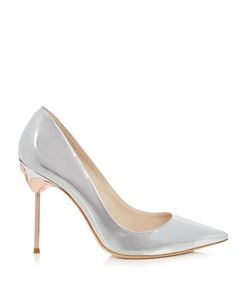 Sophia Webster | Coco Flamingo-Heel Metallic-Leather Pumps