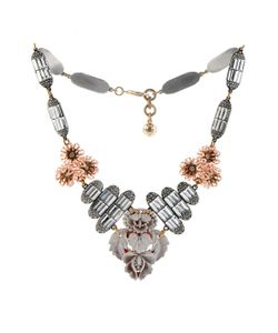 Lulu Frost | Ingrid Floral Crystal Necklace