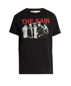 OFF-WHITE | The Rain Cotton-Jersey T-Shirt