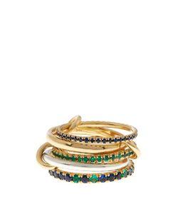 SPINELLI KILCOLLIN | Atlas Emerald Sapphire Silver Gold Ring