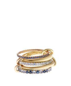SPINELLI KILCOLLIN | Atlas Sapphire Tanzanite Silver Gold Ring