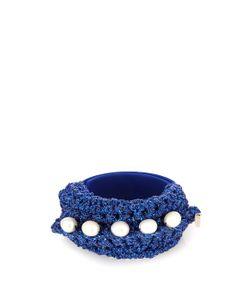 LUCY FOLK | Pearl Diver Slap Crochet And Pearl Bracelet
