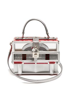 Dolce & Gabbana | Dolce Box Leather-Trimmed Jukebox Bag