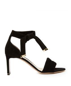 Nicholas Kirkwood | Ziggy Quilted-Strap Suede Sandals
