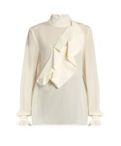 Stella Jean | Intendere Ruffled Silk-Crepe Blouse