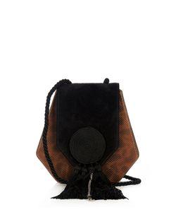 Saint Laurent | Opium 3 Leather And Suede Shoulder Bag