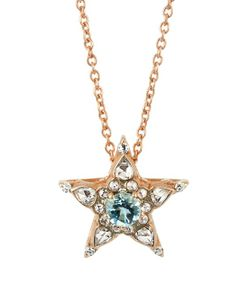 SELIM MOUZANNAR | Diamond Aquamarine Pink-Gold Istanbul Necklace