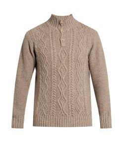 INIS MEÁIN | Aran-Knit Wool Sweater