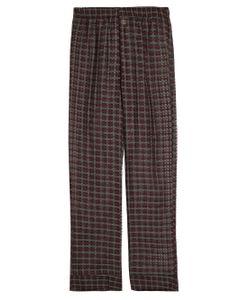 MORPHO + LUNA   Maya Cotton And Silk-Blend Pyjama Trousers