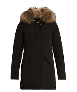 WOOLRICH JOHN RICH & BROS. | Luxury Arctic Fur-Trimmed Padded Parka