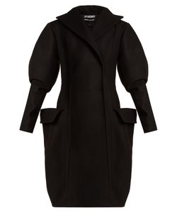 JACQUEMUS | Oversized-Pocket Double-Breasted Wool Coat
