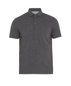 Brunello Cucinelli | Button-Down Collar Cotton-Jersey Polo Shirt