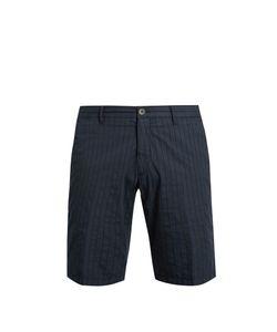 J.W. Brine | Free Donnie Striped Cotton Shorts