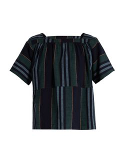 ACE & JIG | Vista Square-Neck Cotton Top