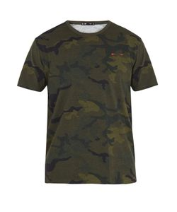 THE UPSIDE | Jack Camouflage-Print Cotton Performance T-Shirt