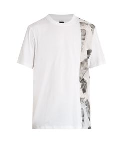 OAMC | Tropic-Print Panel Cotton T-Shirt