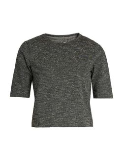 OUTDOOR VOICES X A.P.C | Cropped Jersey Performance T-Shirt