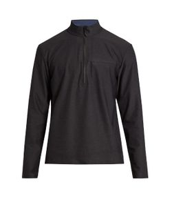 A.P.C. X OUTDOOR VOICES | Half-Zip Performance Track Top