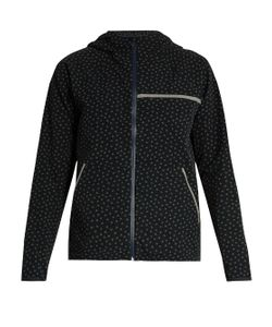 A.P.C. X OUTDOOR VOICES | Clover-Print Hooded Performance Jacket