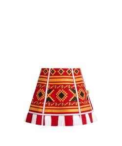 Vita Kin | Croatia Embroidered Linen Skirt