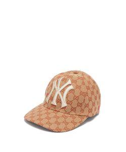 Gucci - Ny Yankees Logo Gg Canvas Cap 68b5086070ea