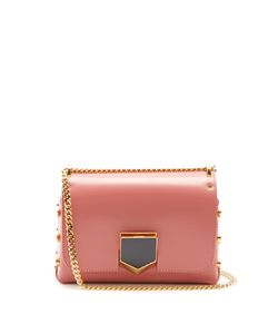 Jimmy Choo | Lockett Petite Leather Shoulder Bag
