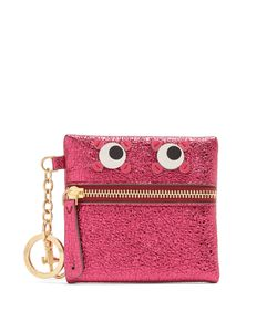 Anya Hindmarch | Eyes Crinkled-Leather Coin Purse