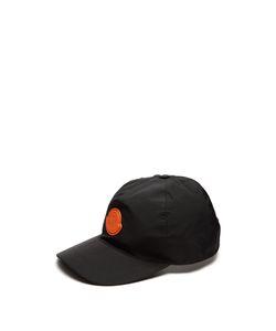 Moncler O   Rubber Logo Cap