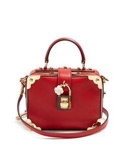 Dolce & Gabbana | Dolce Soft Grained-Leather Box Bag