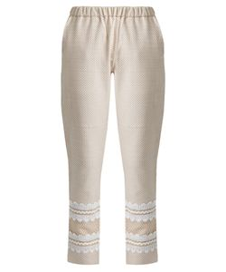DODO BAR OR | Isasshar Lace-Embellished Cotton Trousers