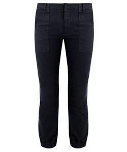 Nili Lotan   Stretch-Cotton Military Trousers