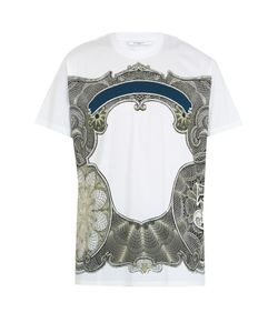 Givenchy | Columbian-Fit Dollar-Print Cotton T-Shirt