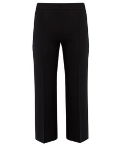 The Row | Maria Wide-Leg Silk-Blend Cropped Trousers
