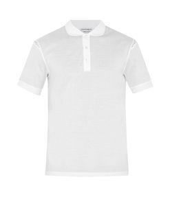 Alexander McQueen | Skull-Print Insert Cotton Polo Shirt