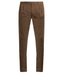 Boglioli | Slim-Leg Stretch-Cotton Chino Trousers