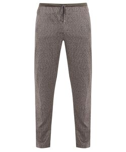 ZIMMERLI | Jacquard Cotton And Silk-Blend Jersey Trousers