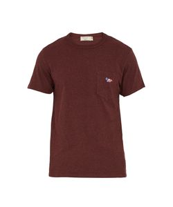 Maison Kitsune | Patch-Pocket Cotton T-Shirt