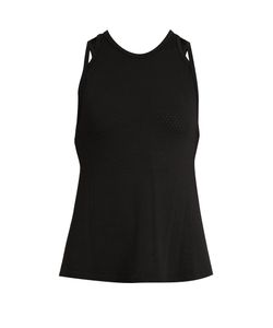 Track & Bliss | Criss Cross Perforated Performance Top