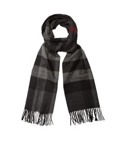 Burberry | Checked Cashmere Scarf