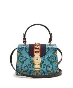 Gucci | Sylvie Mini Brocade Shoulder Bag