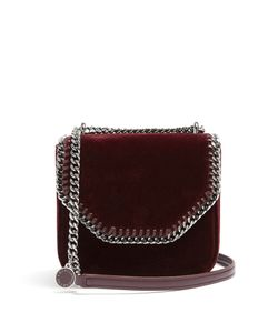 Stella Mccartney | Falabella Box Mini Velvet Cross-Body Bag