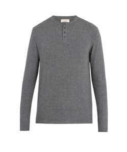 American Vintage | Vetington Brushed-Jersey Henley Top