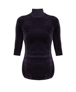 VETEMENTS   X Juicy Couture Cotton-Blend Velour Top