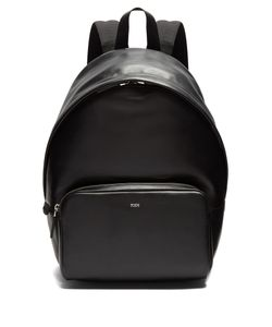 Tod'S | Logo-Debossed Leather Backpack