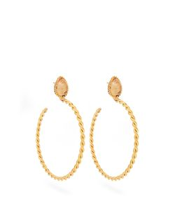 Sylvia Toledano | Quartz And Plated Earrings