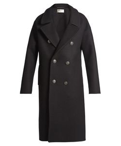 Saint Laurent | Oversized Double-Breasted Coat