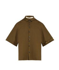 Damir Doma | Sol Short-Sleeved Box-Cut Cotton Shirt