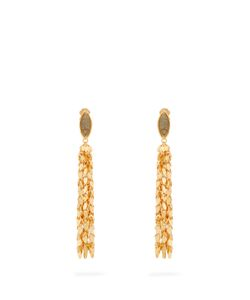 Sylvia Toledano | Leaves Plated Clip-On Earrings