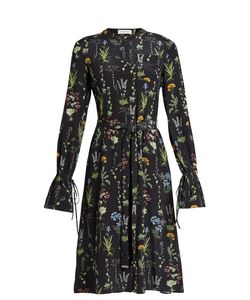 Altuzarra | Leighton Print Long-Sleeved Midi Dress